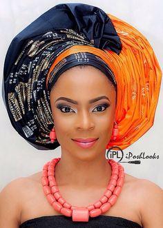 Attaché foulard gélé headwrap maré têt ~African fashion, Ankara, kitenge, African women dresses, African prints, Braids, Nigerian wedding, Ghanaian fashion, African wedding ~DKK