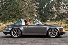Porsche 911 Targa. Restoration — Singer, California