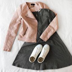 Veste Matoury, Robe Pöllau & Chaussures Varana #Boutique1861