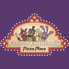 Freddy Fazbear's Logo is a T Shirt designed by Kaiserin to illustrate your life and is available at Design By Humans #freddy #fnaf #fnaf2 #fivenightsatfreddys #foxy #chica #bonnie #securityguy #mangle #pizza #logo #goldenfreddy #shadowbonnie #toybonnie #toychica #endoskeleton #toychica #puppet