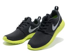 online store 9b87f 50739 Anthracite Wolf Grey Cyber Nike Roshe Run Men s Shoes Nike Sneakers, Nike  Shoes, Men s