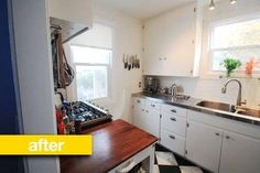 Kitchen Before & After: A Small 1946 Bungalow Kitchen Gets a Budget $6,000 Update Reader Kitchen Remodel | The Kitchn