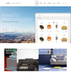 This interior design and furniture WordPress theme offers a responsive layout, Visual Composer, WooCommerce and WPML compatibility, a clean design, cross-browser compatibility, lots of shortcodes, and more.