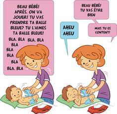 Conseil #3 Laisser l'enfant prendre son tour de parole; éviter de monologuer. #Placote #Stimulationdulangage