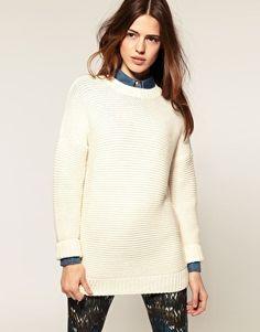 ASOS | ASOS Boyfriend Sweater at ASOS | We Heart It