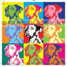 Pop-art gemaakt van jouw foto.  www.personal-art.nl