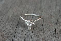 """Hey, I found this really awesome Etsy listing at <a href=""""https://www.etsy.com/listing/198250164/sterling-silver-longhorn-ring-texas"""" rel=""""nofollow"""" target=""""_blank"""">www.etsy.com/...</a>"""