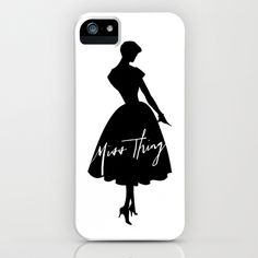 Miss Thing iPhone & iPod Case by Miss Modern Shop - $35.00