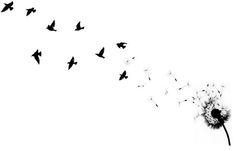 Dandelion and Birds photo DandelionBirdtat.jpg
