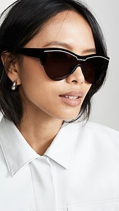 Women's Sunglasses, Dressmaking, Balenciaga, Skiing, Eyewear, Lenses, Shades, Couture, Womens Fashion