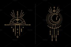 Mandala Set - Tribal Shaman by skyboxcreative on @creativemarket