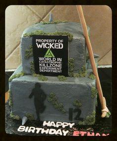 The Maze Runner cake