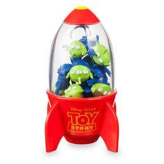 784597a2c5891d Eight Space Aliens find themselves in the clutches of the claw with this  Toy Story eraser