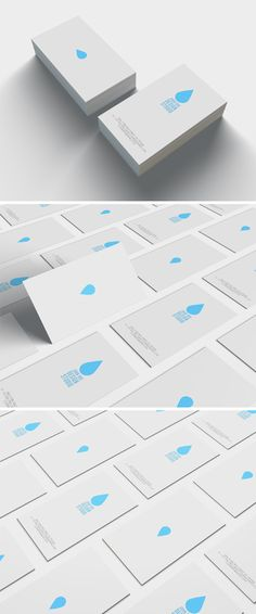 Minimal Business Card Design template. Suitable for any kind of business, this card is fully customizable and come in a well organized .PSD file