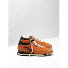 87abb9f50845 Golden Goose Running Sneakers Soldes - Acheter Golden Goose GGDB Running  Homme Sneakers Orange