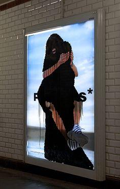 work by Princess Hijab - Paris
