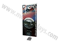 360 Adjustable Banner Stand - NWCI Displays