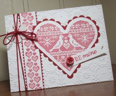 Sweet Violets Paperie: Be Mine-- Waltzingmouse Blog Party