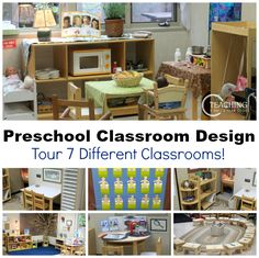 Do you like to see other classrooms? Come take a look at these 7 different preschool classrooms!