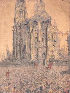 Catedral. James Ensor  Discover the coolest shows in New York at www.artexperience..