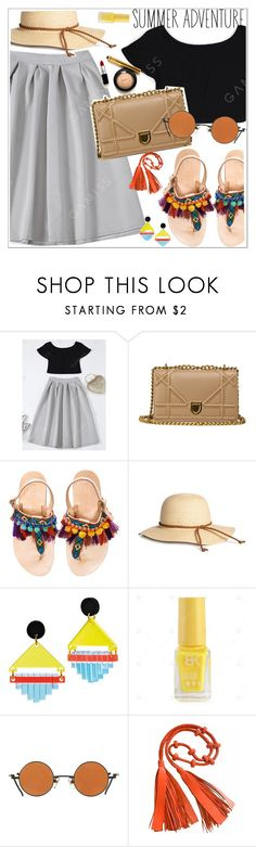 """Summer adventure"" by teoecar ❤ liked on Polyvore featuring Elina Linardaki and Toolally"