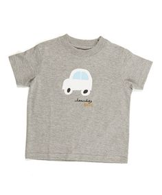Take a look at this Gray Car Tee - Infant, Toddler & Boys by Lourdes on #zulily today!