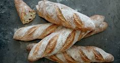 Bread Baking, Pain, Baguette, Recipies, Rolls, Food And Drink, Cooking, Buns, Breads