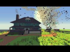 ▶ Minecraft: TORNADO MOD VS. REGULAR SHOW MAP! (Weather & Tornadoes Mod!) - YouTube