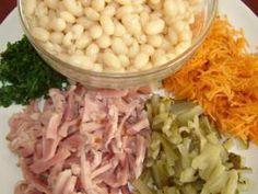 Salata de fasole boabe cu maioneza, Rețetă Petitchef Food, Essen, Meals, Yemek, Eten