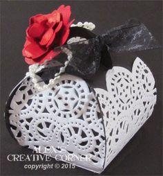 Alex's Creative Corner: Goth inspired gift boxes