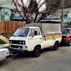 Rare single cab Vanagon spotto in N. Van