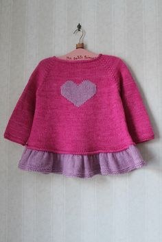 Baby Knitting Patterns Top Ravelry: Milainemicoton & # s ~ Tutu Top ~ Baby Knitting Patterns, Knitting For Kids, Baby Patterns, Tutu Top, Tricot D'art, Pull Bebe, Baby Girl Sweaters, Baby Cardigan, Kind Mode