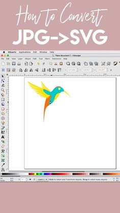 """How to Convert JPG to SVG for Cricut Crafters! How to Convert JPG to SVG for Cricut Crafters!,Cricut Tutorials 🤷""""How do I convert an image into a SVG?"""" This skill will change the way. Cricut Air 2, Cricut Help, Inkscape Tutorials, Cricut Tutorials, Xy Plotter, Fixer Upper Style, Shilouette Cameo, Fun Craft, Craft Ideas"""