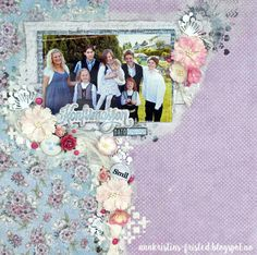 Ann Kristins fristed Papirdesign, confirmation layout flowers Confirmation, Ann, Layout, Scrapbook, Frame, Flowers, Home Decor, Travel, Page Layout
