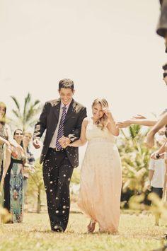 Rain of Rice - Wedding