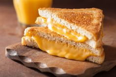 From sweet to savory, meaty and more, these delicious grilled cheese sandwich recipes will wow any cheese-lover. Grilled Cheese Truck, Perfect Grilled Cheese, Grill Cheese Sandwich Recipes, Best Cheese, Cheese Recipes, Grilled Cheeses, Sandwiches, Cheddar Fondu, Sandwich Cubano