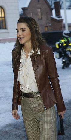 Queen Rania, Oslo, January 2016