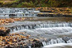 :: Joaveski waterfall. Loobu river, Lahemaa, Estonia - © Arne Ader / Loodusemees