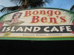 Bongo Ben's good food, fun to listen to the local music, people passing by, and the sun setting on the bay... ♥