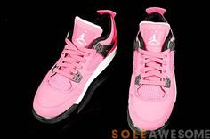 "Something for the ladies... Air Jordan 4 GS ""Voltage Cherry"""