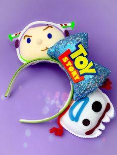 DISNEY ears Toy Story lotso bear strawberry Headband Costume 3d ears soft plush
