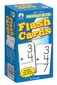8 Pack CARSON DELLOSA FLASH CARDS ADDITION 0-12 by CARSON DELLOSA. $58.80. 94 two-sided cards, each 5.875in. x 3in. Rounded corners for easy sorting. 1 resource card