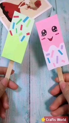 The post Cute Paper Craft Ideas! appeared first on Easy Crafts. Diy Crafts Life Hacks, Diy Home Crafts, Diy Arts And Crafts, Diy Crafts Videos, Diy Craft Projects, Creative Crafts, Diy Videos, Project Ideas, Easy Crafts