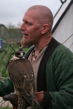Falconer. Wonderful photos from Ribe vikingmarked 2012, Denmark.