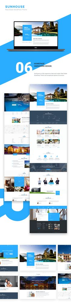 SunHouse is a clean and modern Real Estate Template with 19 carefull hand-draft PSDs. Take easy to promote your real estate project with SunHouse and…