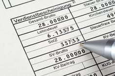 Gehaltsabrechnung Das Mussen Sie Wissen Gehaltsabrechnung Steuererklarung Tipps Finanzen