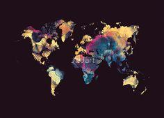 world map 79 black