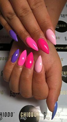 Nail Art bianca f nail art Classy Nails, Stylish Nails, Trendy Nails, Funky Nails, Love Nails, Perfect Nails, Gorgeous Nails, Cute Acrylic Nails, Glitter Nails