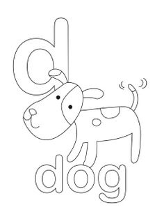 Alphabet Coloring Pages Lowercase And Uppercase