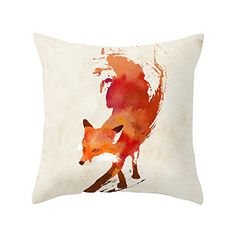 Yoler Art Decorative Throw Pillow Cases Square 18*18 Inch Pillow Covers Home Decor Sofa Cushion Bright Colorful Satin Pillowcases Yoler